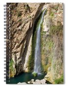 Waterfall In Ronda Spiral Notebook