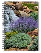 Waterfall Lanscape Spiral Notebook
