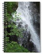 Waterfall Mine Kill State Park New York Spiral Notebook