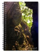 Waterfall Mountain Spiral Notebook