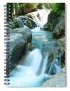 Waterfall Near Paradise Spiral Notebook