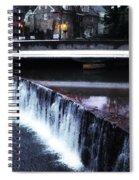 Waterfall New Hope Pa Spiral Notebook