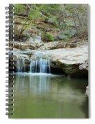 Waterfall On Piney Creek Spiral Notebook