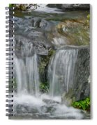 Waterfall On The Paradise River Spiral Notebook
