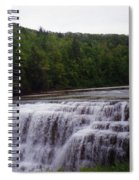 Waterfall On The River Spiral Notebook