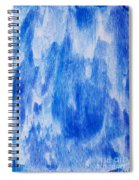 Waterfall Painting Spiral Notebook