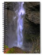 Waterfall Spray Spiral Notebook