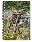 Waterfall Way Spiral Notebook