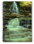Waterfalling Through Ricketts Glen Spiral Notebook