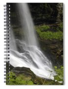 Waterfalls At Base Spiral Notebook