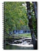 Waterfalls At Dusk 2012 Spiral Notebook