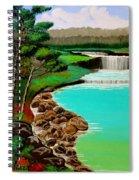 Waterfalls Spiral Notebook