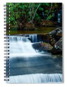 Waterfalls Of Carreck Creek Spiral Notebook