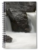 Waterfalls On Nigel Creek Spiral Notebook