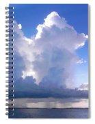 Waterfalls Over Florida Bay Filtered Spiral Notebook
