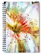 Waterflower Spiral Notebook