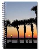 Waterfront After Dark Spiral Notebook