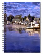 Waterfront Morning Spiral Notebook