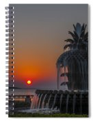 Waterfront Park Sunrise Spiral Notebook
