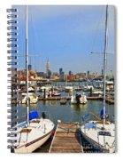 Waterfront View Hoboken Spiral Notebook