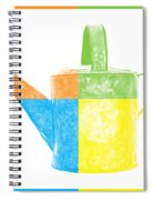 Watering Can Pop Art Spiral Notebook