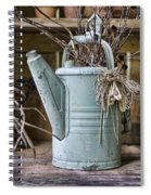 Watering Can Pot Spiral Notebook