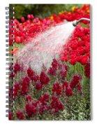 Watering The Garden Spiral Notebook