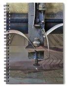 Waterjet Cutter Spiral Notebook