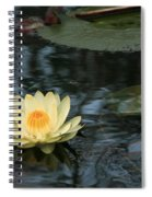 Waterlilly 1 Spiral Notebook