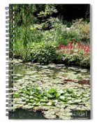Waterlily Pond Giverney Spiral Notebook