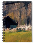 Waterloo Buildings  Spiral Notebook