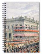 Waterloo Place And Pall Mall Spiral Notebook