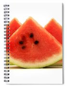 Crimson Sweet Watermelon Spiral Notebook