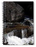Water's Flow Spiral Notebook