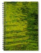 Water's Green Spiral Notebook