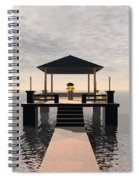 Waterside Gazebo Spiral Notebook