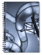 Waterslide Spiral Notebook