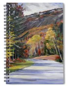 Waterville Road New Hampshire Spiral Notebook