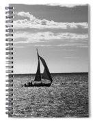 Waterway Bw Spiral Notebook