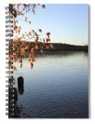Waterways River View Spiral Notebook