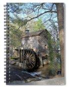 Waterwheel At Stone Mountain Spiral Notebook