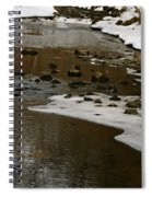 Watery Trail Spiral Notebook