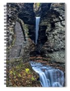 Watkins Glen Central Cascade Spiral Notebook