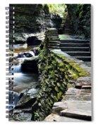 Watkins Glen Exiting The Trail Spiral Notebook