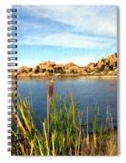 Watson Lake Arizona Spiral Notebook