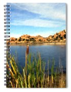 Watson Lake Spiral Notebook