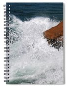 Wave Action Florianopolis Spiral Notebook