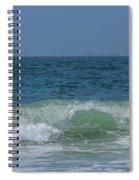 Wave At Seal Beach Spiral Notebook