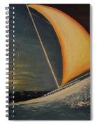 Wave Crasher Spiral Notebook