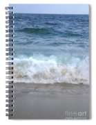 Wave Crashing On The Beach Spiral Notebook